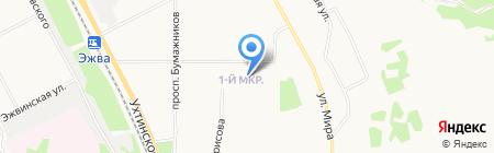 СД-Сервис на карте Сыктывкара