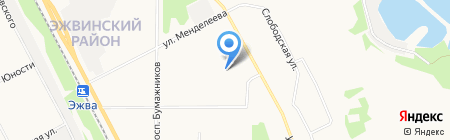 Детский сад №68 на карте Сыктывкара