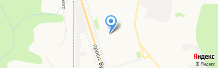 Пряжа на карте Сыктывкара