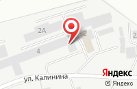 Схема проезда до компании Теплоэлектромонтаж в Сыктывкаре