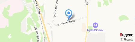 Ле Муррр на карте Сыктывкара