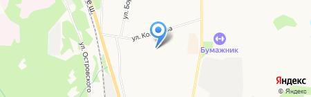 Гимназия №1 на карте Сыктывкара