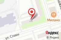 Схема проезда до компании Кода в Сыктывкаре
