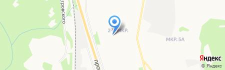 Детский сад №45 на карте Сыктывкара
