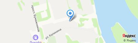 Колер на карте Сыктывкара