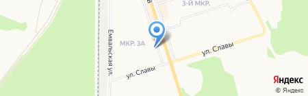 Жемчужина на карте Сыктывкара