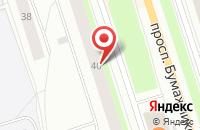 Схема проезда до компании Новострой в Сыктывкаре
