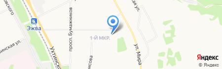 МТС-Банк на карте Сыктывкара