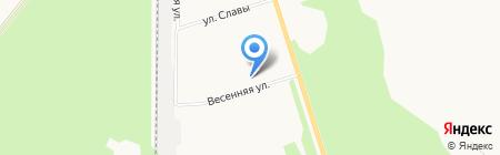 Магазин фруктов и овощей на Весенней на карте Сыктывкара