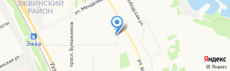 Штучка на карте Сыктывкара