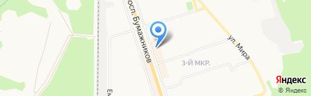 Comepay на карте Сыктывкара