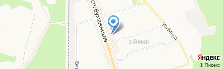 Валдай на карте Сыктывкара