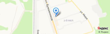 Маленький гений на карте Сыктывкара