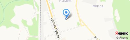 Детский сад №76 на карте Сыктывкара