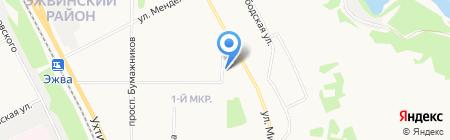 Банкомат МТС-Банк на карте Сыктывкара
