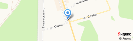 Северные Окна на карте Сыктывкара