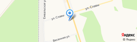 Эжвинский центр коми культуры на карте Сыктывкара