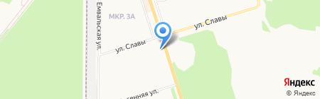 Эконом на карте Сыктывкара