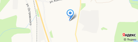ЖЭУ-2 на карте Сыктывкара