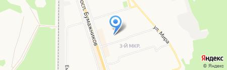 В на карте Сыктывкара