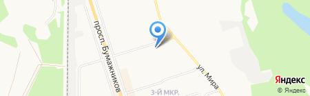 Евростандарт на карте Сыктывкара