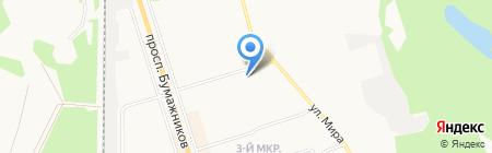 ВЕЛЛ ПЛЯЖНОГО ОТДЫХА СЫКТЫВКАР на карте Сыктывкара