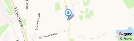 КАРНАВАЛ на карте Сыктывкара