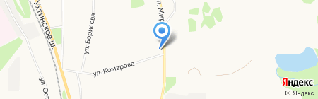 Чердак на карте Сыктывкара