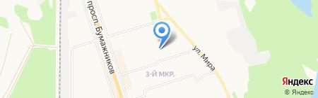 Детский сад №36 на карте Сыктывкара