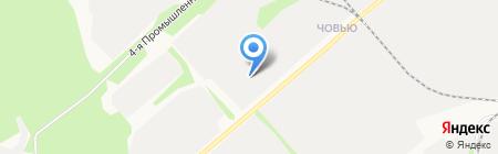 Лесинвест на карте Сыктывкара