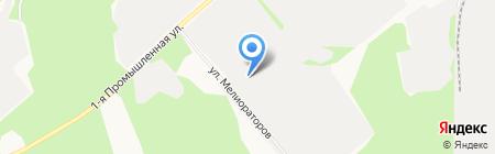 Нижнеодесское УТТ на карте Сыктывкара