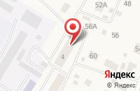 Схема проезда до компании Соляная комната в Выльгорте
