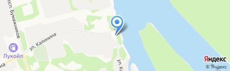 Центр государственной инспекции по маломерным судам в г. Сыктывкаре на карте Сыктывкара
