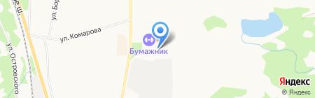 Поликлиника на карте Сыктывкара