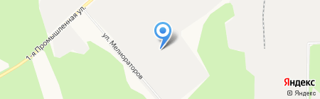 КОРКОВАДО РУС на карте Сыктывкара