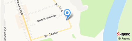 Слобода на карте Сыктывкара