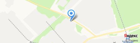 Гурзуф на карте Сыктывкара