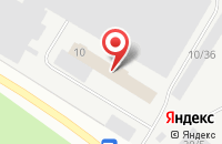Схема проезда до компании Дапстрой в Сыктывкаре