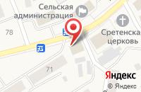 Схема проезда до компании Национальный платёжный сервис в Выльгорте