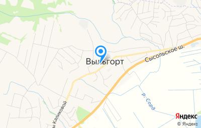 Местоположение на карте пункта техосмотра по адресу Респ Коми, с Выльгорт, ул Домны Каликовой, д 60А