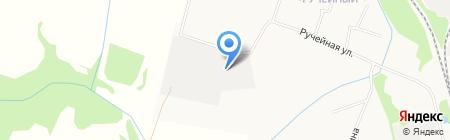 На Ручейной на карте Сыктывкара
