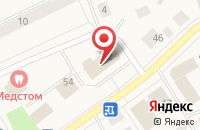 Схема проезда до компании Продовольственный магазин в Выльгорте