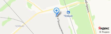 Опорный пункт полиции на Промышленной 1-й на карте Сыктывкара