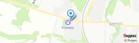 Колос на карте Сыктывкара