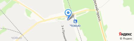 Бурводстрой на карте Сыктывкара