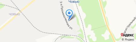 Жилищно-коммунальное управление ГУФСИН России по Республике Коми на карте Сыктывкара