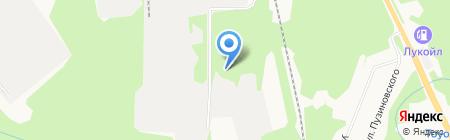 Тиман-House на карте Сыктывкара
