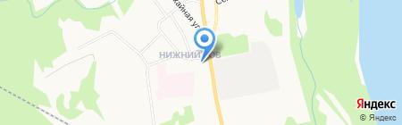 Секонд Хенд на Урожайной на карте Сыктывкара
