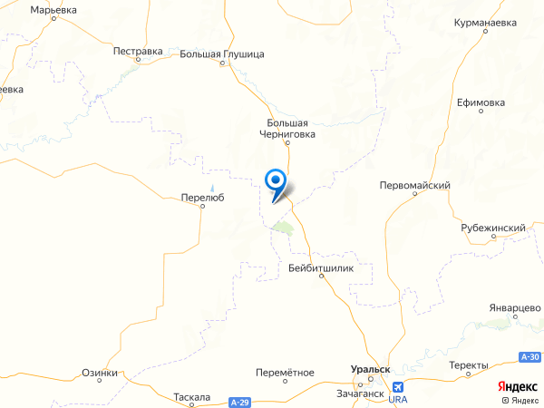 поселок Кошкин на карте