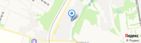 Иллюзион на карте Сыктывкара